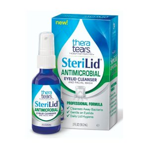 Steralid Antimicrobial Eyelid Cleanser
